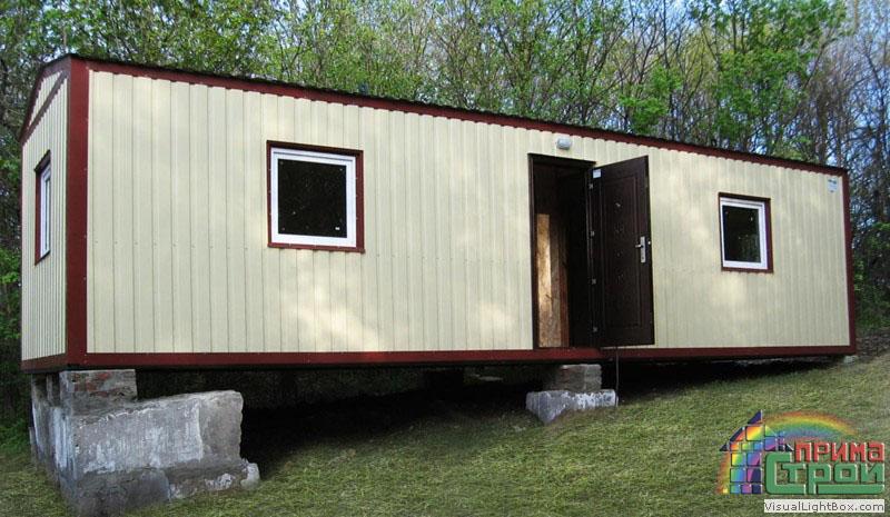 Дачный домик из металла своими руками 92