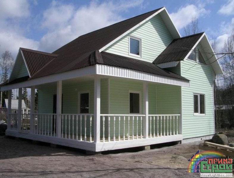 Декорируем фасад и утепляем дом